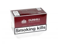 DUNHILL INTERNATIONAL RED 100'S cigarettes 10 cartons