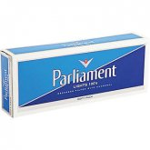 Parliament White Pack 100's Soft Pack cigarettes 10 cartons