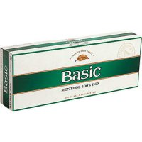 Basic Menthol 100's Box cigarettes 10 cartons