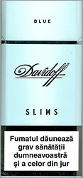 Davidoff Slims Blue Cigarettes 10 cartons
