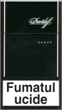 Davidoff Shape Black Cigarettes 10 cartons