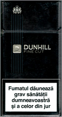 Dunhill Fine Cut Black 100`s Cigarettes 10 cartons
