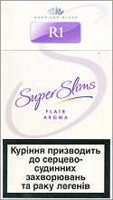 R1 Super Slims Flair Aroma 100's Cigarettes 10 cartons