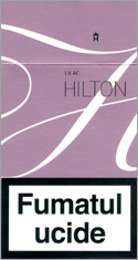 Hilton Super Slims Liliac 100's Cigarettes 10 cartons