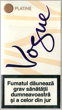 Vogue Super Slims Platine Cigarettes 10 cartons