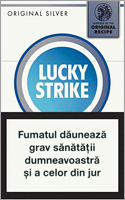 Lucky Strike Original Silver Cigarettes 10 cartons