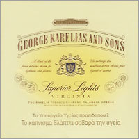 George Karelias And Sons (Smoother) Cigarettes 10 cartons