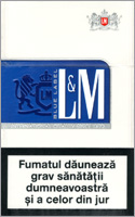 L&M Lights (Blue) Cigarettes 10 cartons