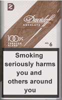DAVIDOFF ABSOLUTE 6 cigarettes 10 cartons