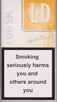LD SUPER SLIMS AMBER Cigarettes 10 cartons