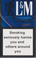 L&M Loft Night Blue Cigarettes 10 cartons