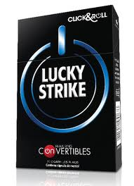 Lucky Strike Click & Roll Convertibles cigarettes 10 cartons