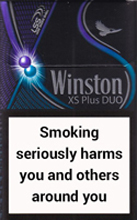 WINSTON XS PLUS DUO cigarettes 10 cartons