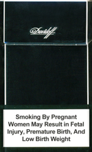 Davidoff Black Cigarettes 10 cartons