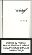 Davidoff Shape White Cigarettes 10 cartons