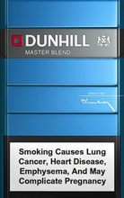 DUNHILL MASTER BLEND (BLUE) cigarettes 10 cartons
