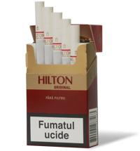 Hilton Original Non-Filter cigarettes 10 cartons