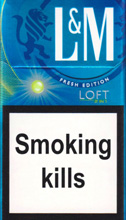 L&M LOFT 2 IN 1 cigarettes 10 cartons