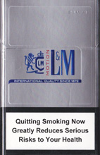 L&M MOTION SILVER (MINI) cigarettes 10 cartons