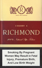 RICHMOND CHERRY 4 cigarettes 10 cartons