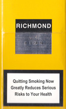 RICHMOND KLAN cigarettes 10 cartons