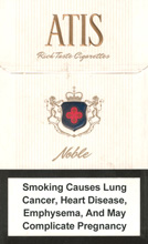 Atis Noble Cigarettes 10 cartons